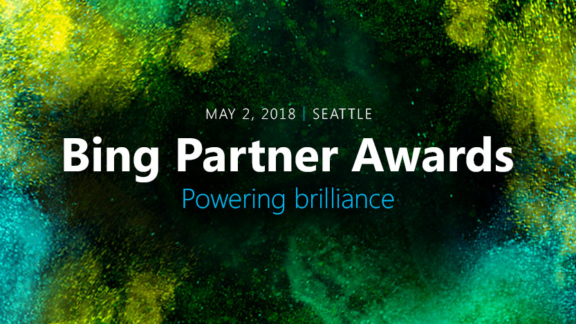 Bing Partner Awards, Powering brilliance