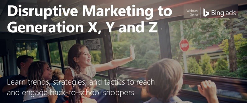 Disruptive Marketing to Generation X, Y, and Z