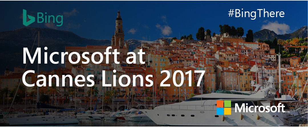 Microsoft at Cannes Lions 2017