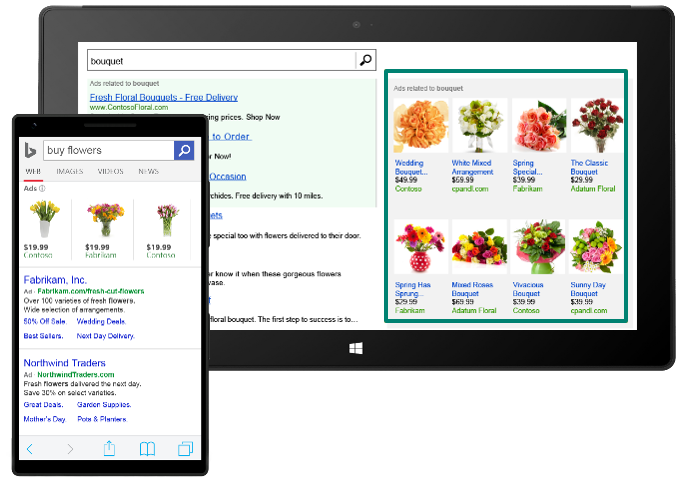 My Online Valentine Search Shopping And The Gift Of Tech Bing Ads
