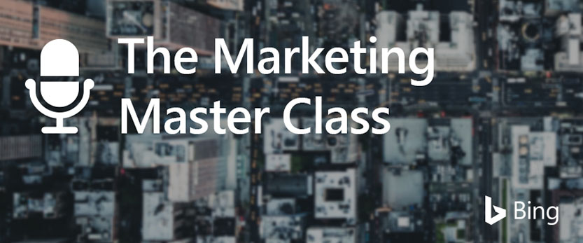 Marketing Masterclass header