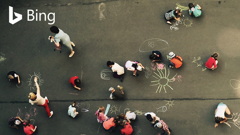 People on playground