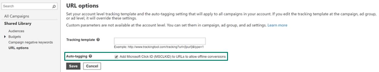 Check auto-tagging status