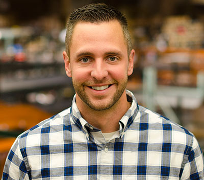 Jason Corpus, vice president of marketing, Gardener's Edge