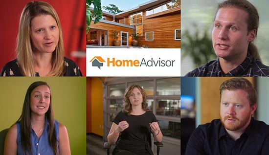 Photo of the HomeAdvisor executive and marketing team members.