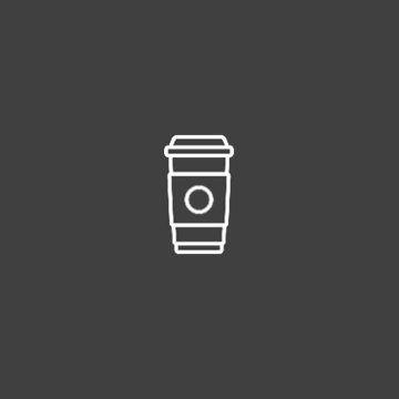 Illustration of a disposable coffee cup.