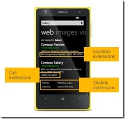 Mobile Sitelinks Available in Bing Ads
