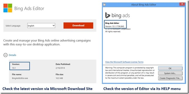 Bing Ads Editor_Download latest version