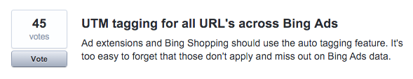 bing ads auto-tagging