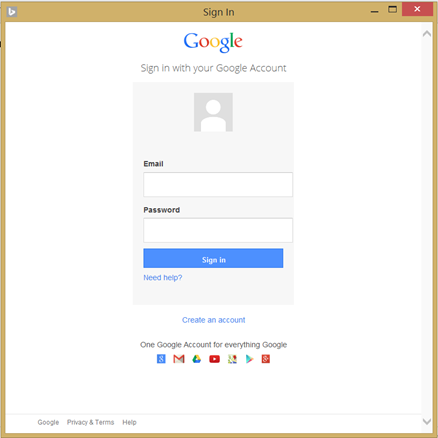 Google adwords login
