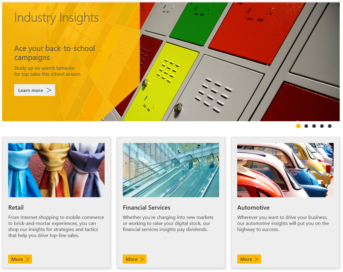 bing ads industry insights