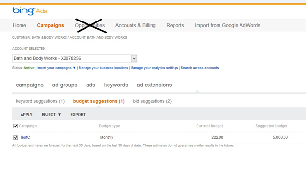 Bing ppc coupons