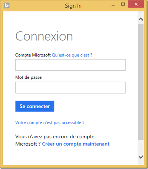 Informations Sur L Utilisation D Un Compte Microsoft Pour Se