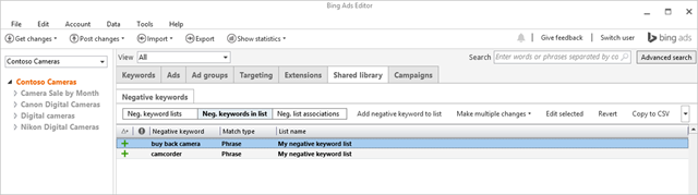 Bing Ads October Summary_Bing Ads Editor 10.6
