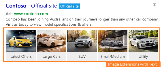 bing ads image extensions