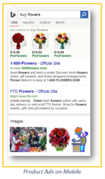 bing product ads mobile