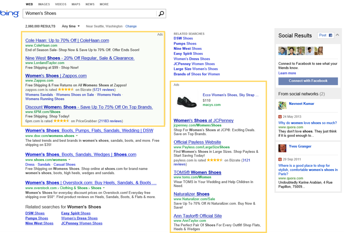 bing ads auction explained  how bid  cost