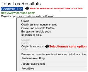 Bing ad