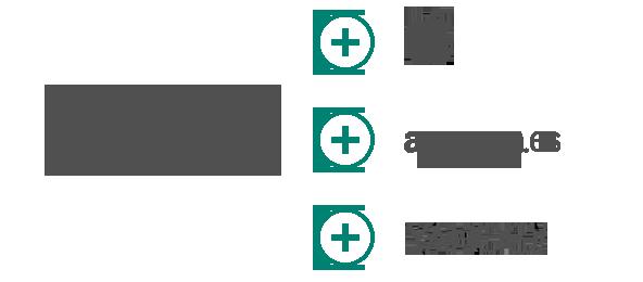 Ilustración de logotipos de empresa que muestra asociaciones entre Bing y empresas como Apple, Amazon y Yahoo.