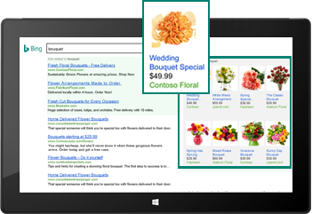 Screenshot of a Product Ad displayed within content.